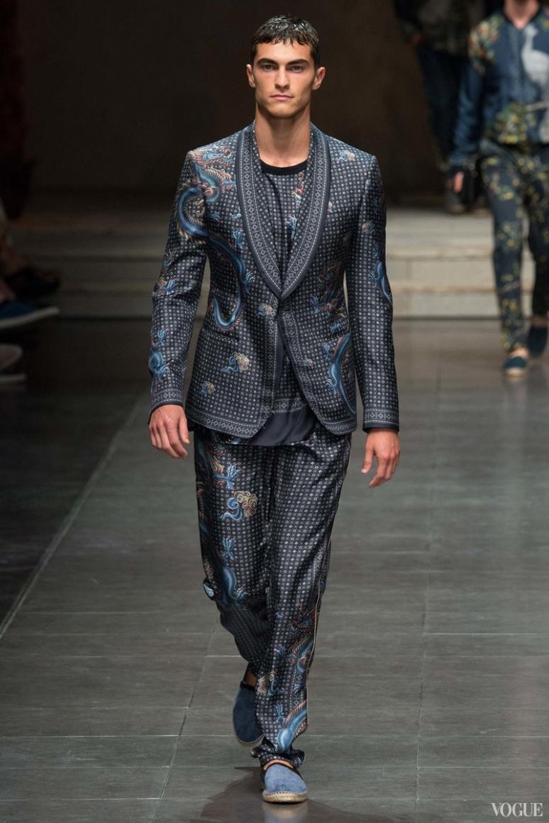 Dolce & Gabbana Menswear весна-лето 2016 #89