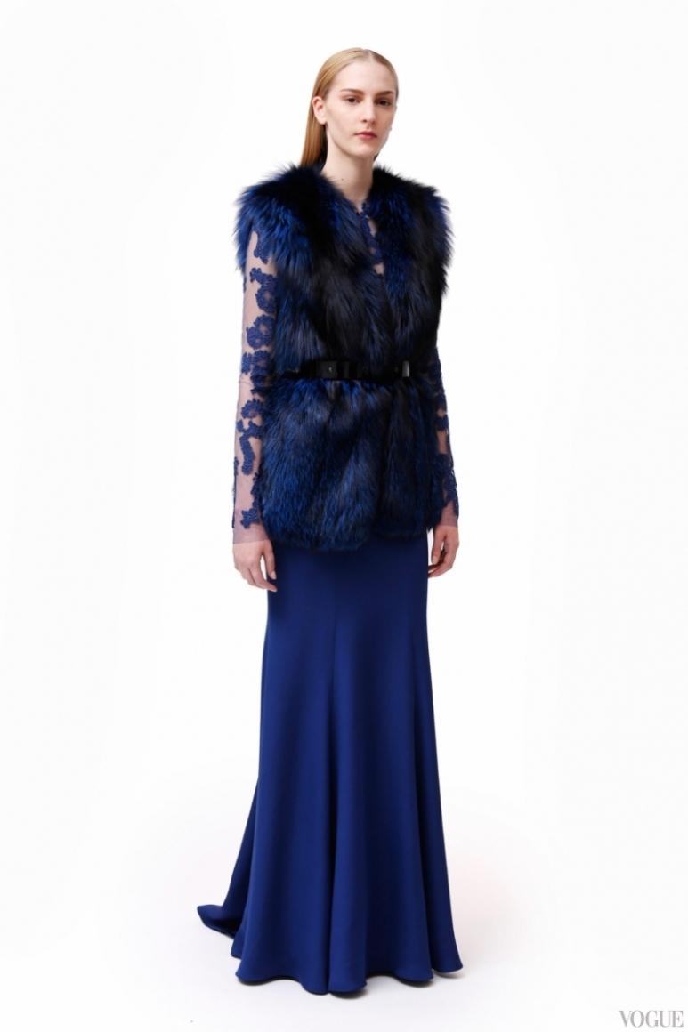 Monique Lhuillier Couture весна-лето 2013 #13