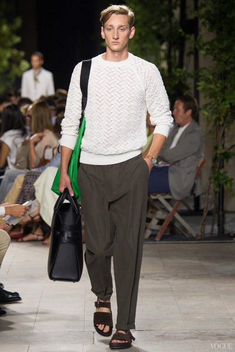 Hermes Menswear весна-лето 2016 #14