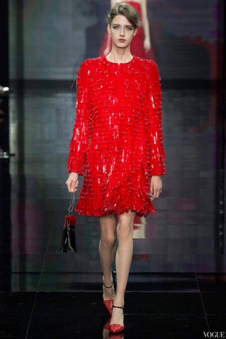 Armani Priv? Couture осень-зима 2014/2015 #20
