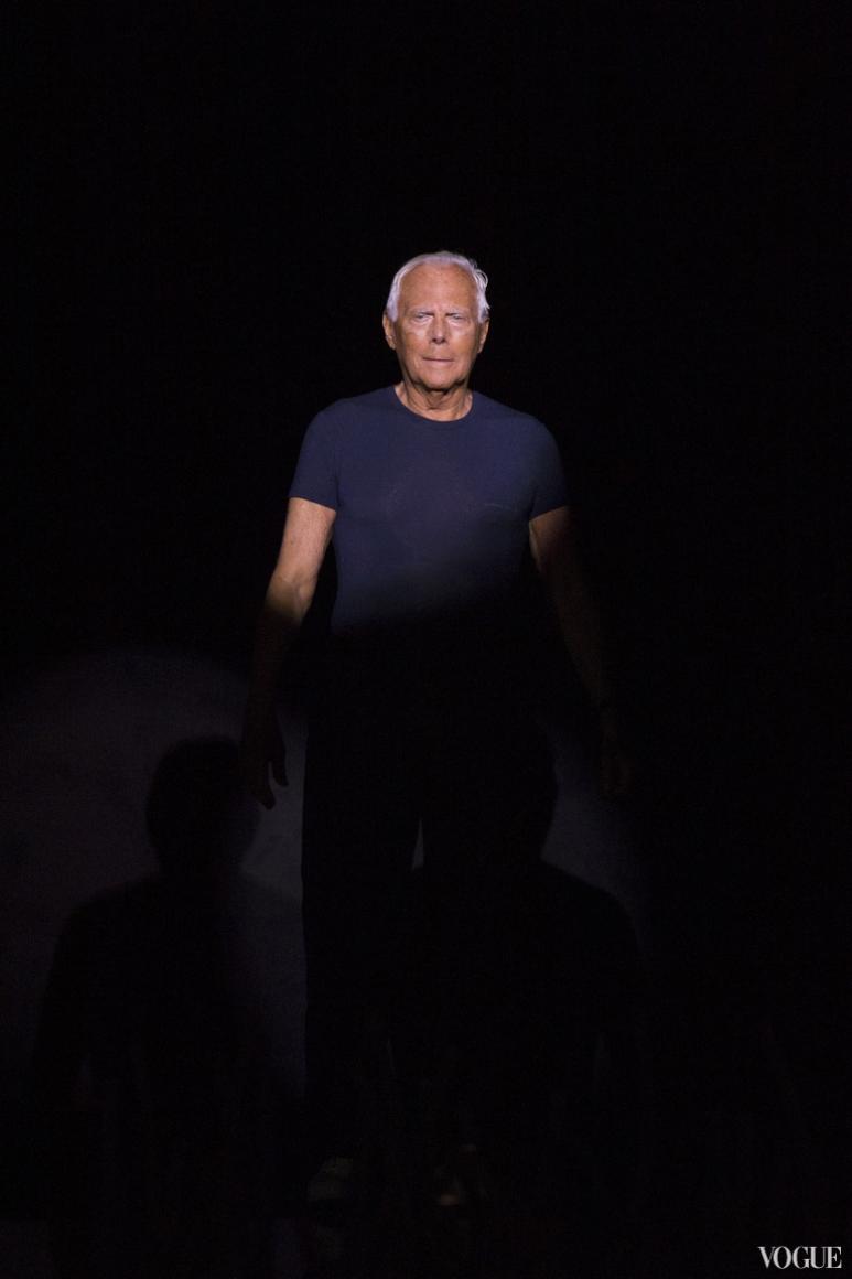 Giorgio Armani Menswear весна-лето 2016 #1