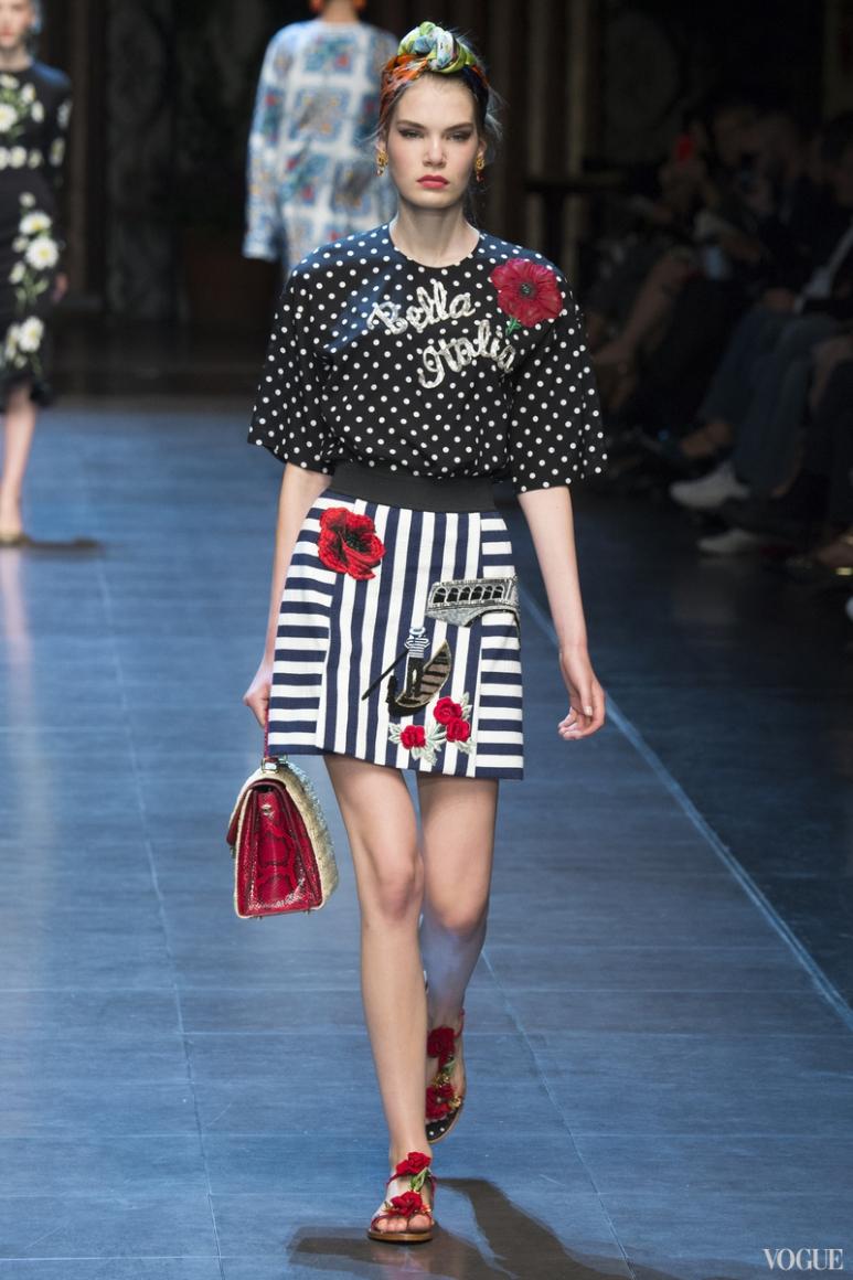 Dolce & Gabbana весна-лето 2016 #50