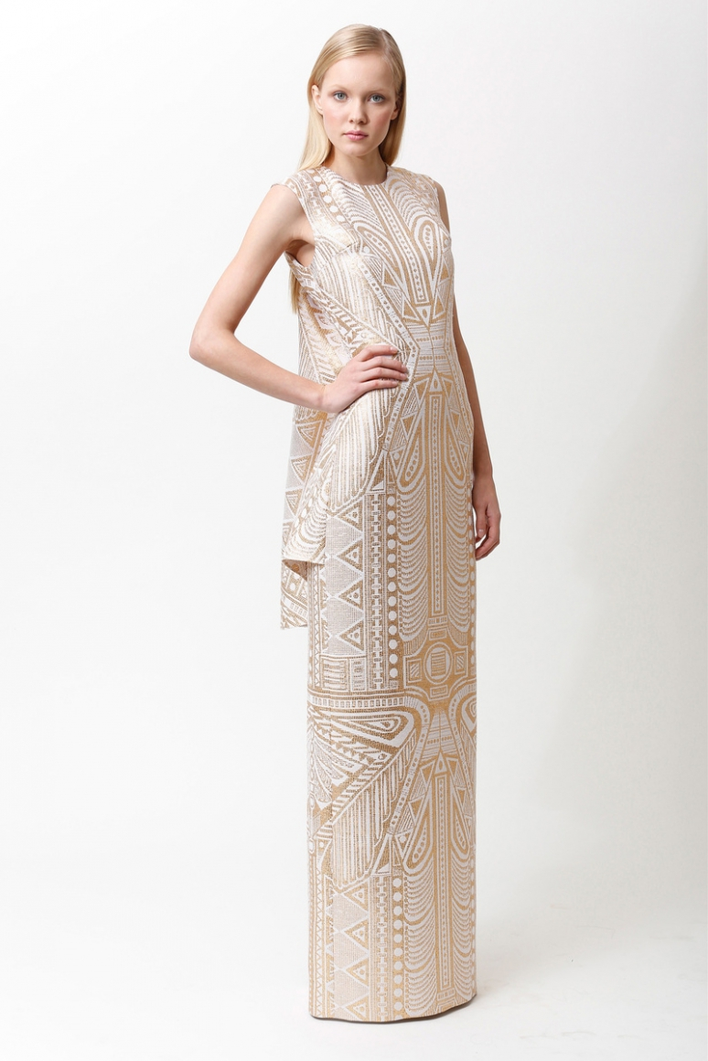 Badgley Mischka Pre-Fall 2013 #20