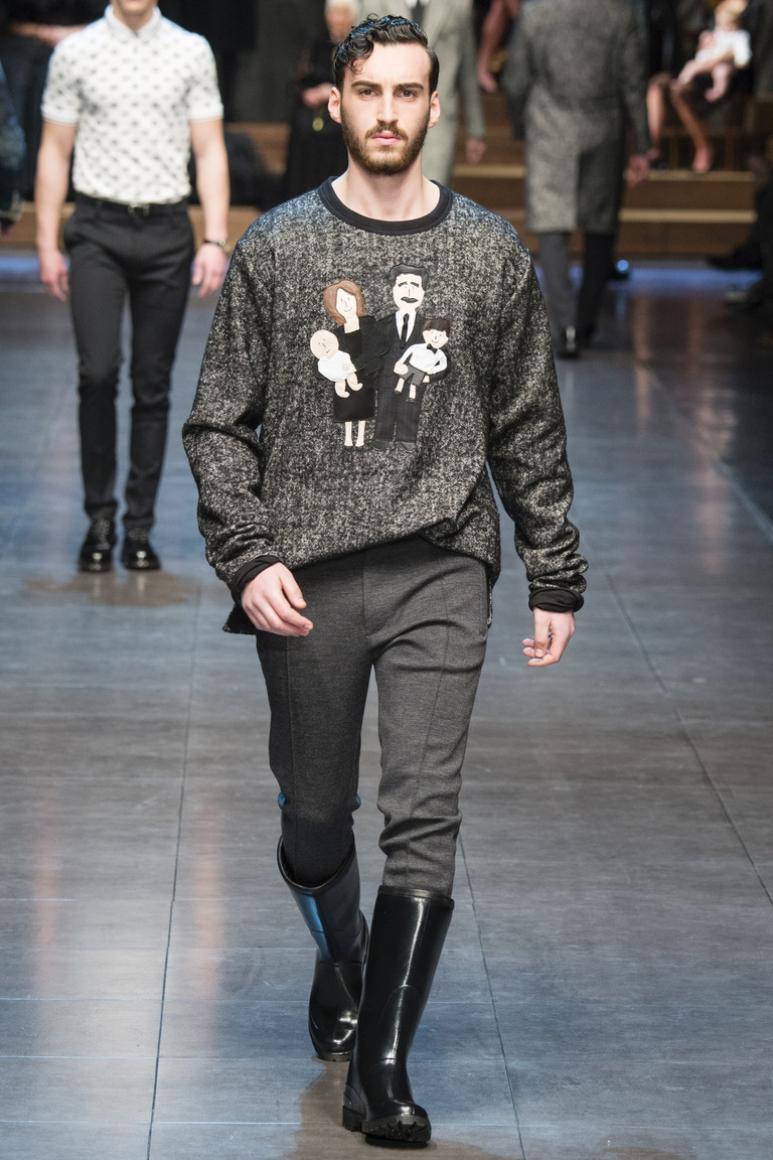 Dolce & Gabbana Menswear осень-зима 2015/2016 #34