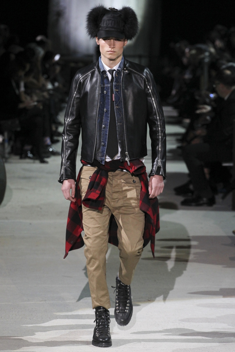 Dsquared? Menswear осень-зима 2015/2016 #23