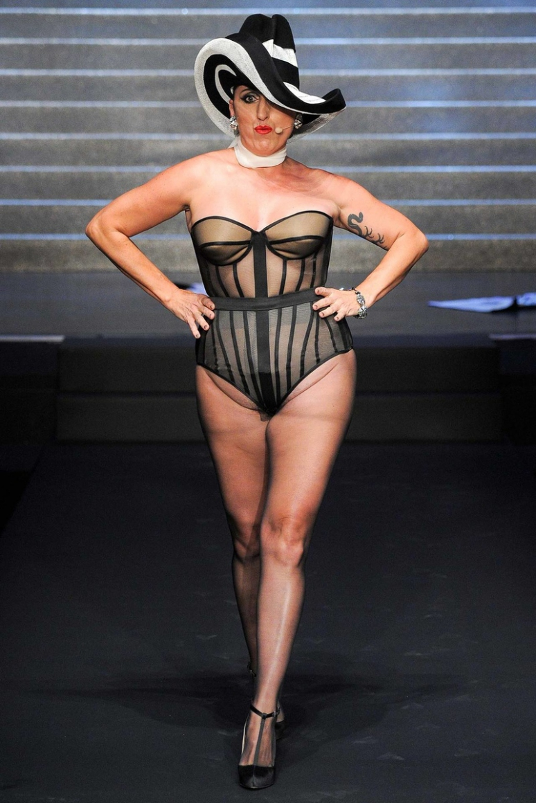 Jean Paul Gaultier весна-лето 2015 #69