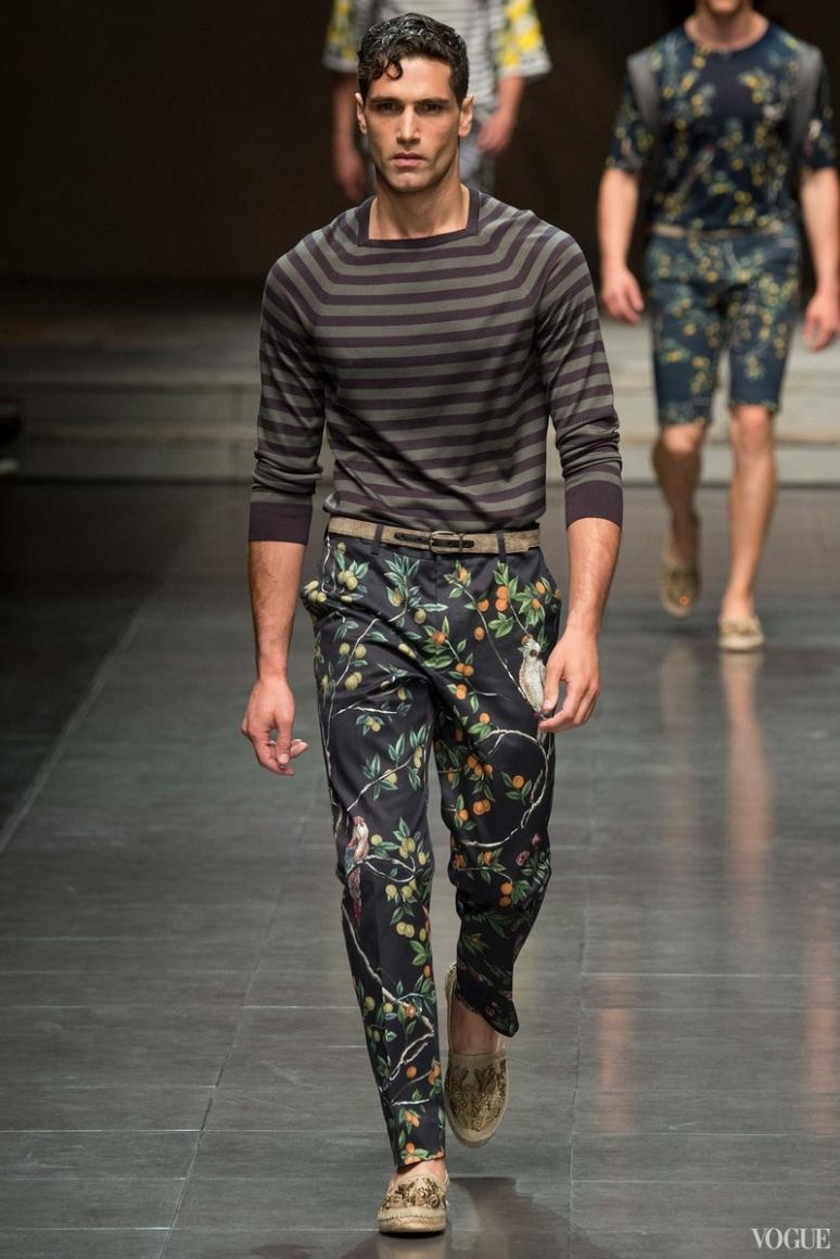 Dolce & Gabbana Menswear весна-лето 2016 #32