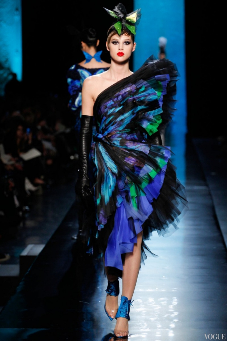 Jean Paul Gaultier Couture весна-лето 2014 #14