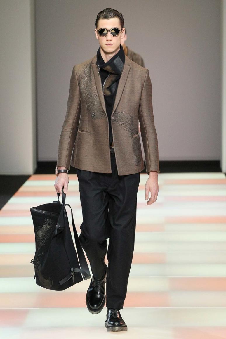 Emporio Armani Menswear осень-зима 2015/2016 #49