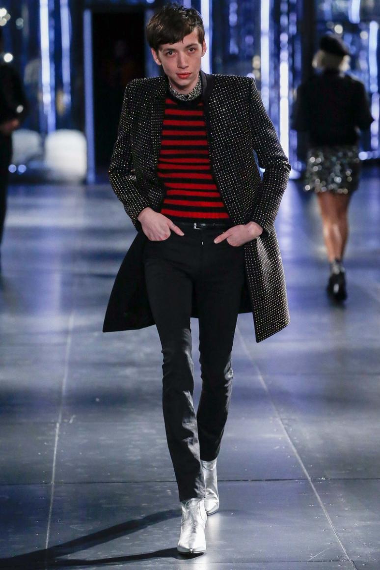 Saint Laurent Menswear осень-зима 2015/2016 #18