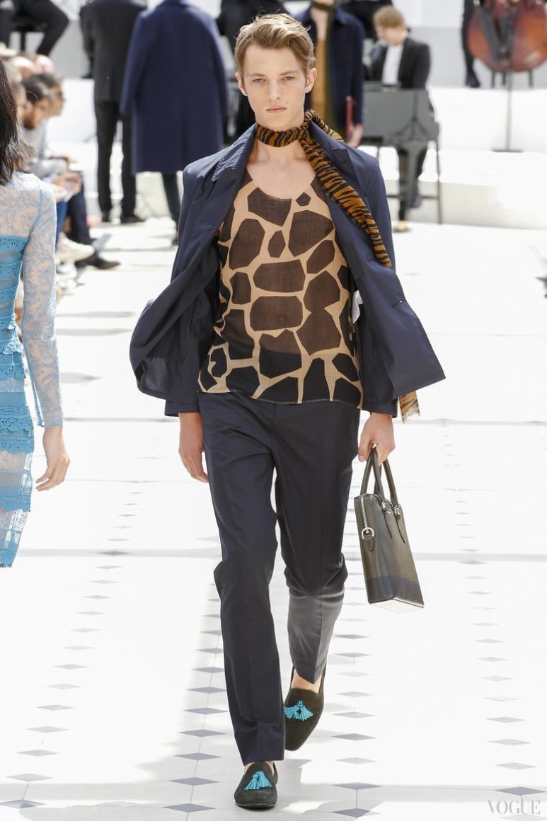 Burberry Prorsum Menswear весна-лето 2016 #31