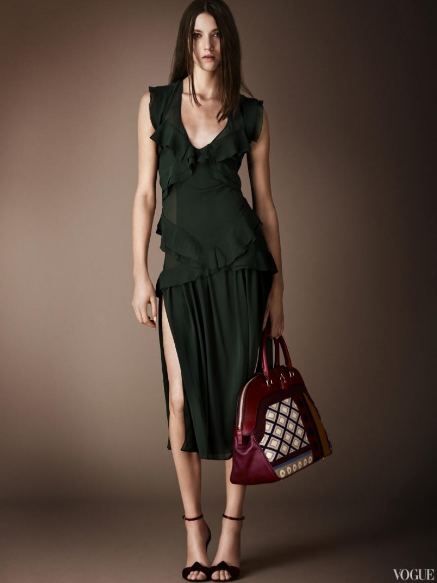 Burberry Prorsum Couture весна-лето 2013 #17