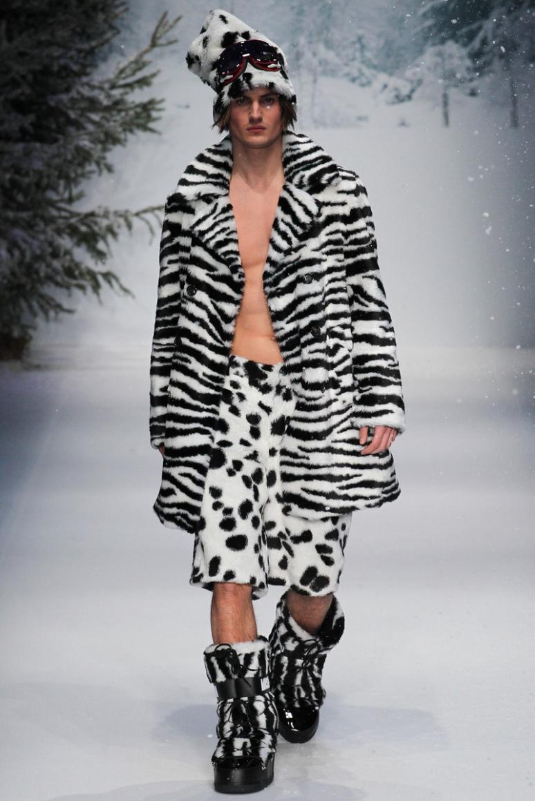 Moschino Menswear осень-зима 2015/2016 #46
