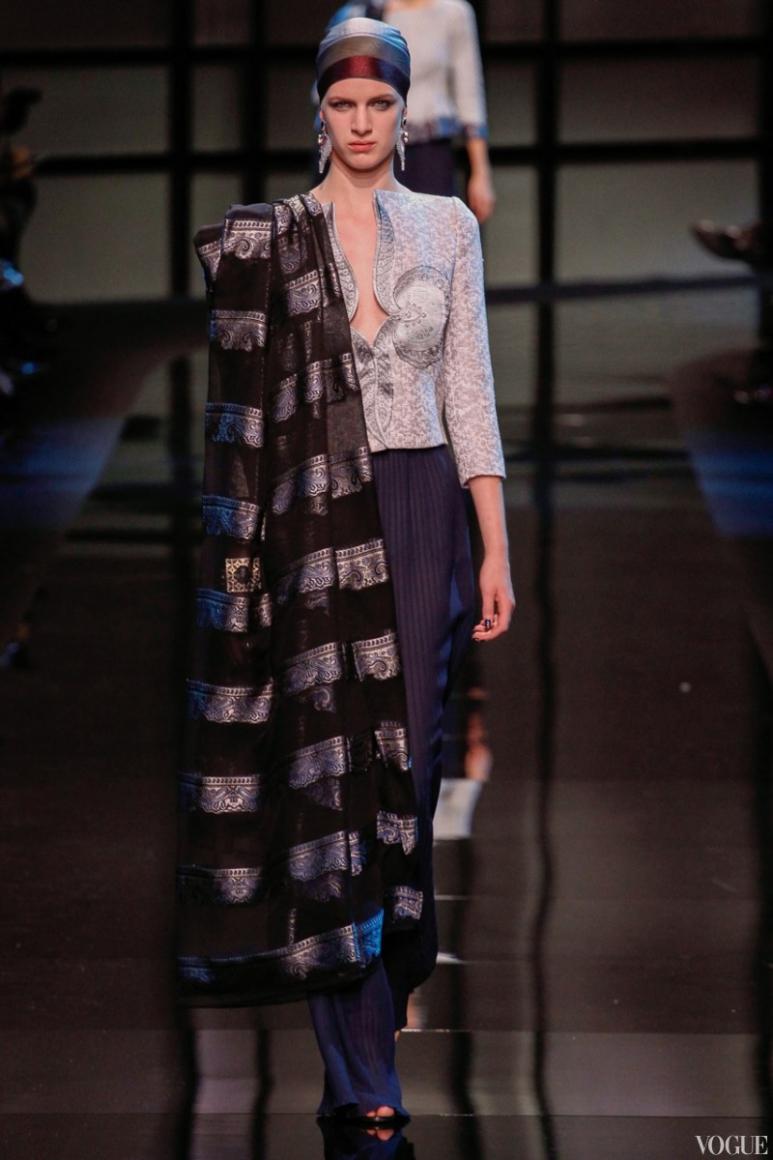 Armani Priv? Couture весна-лето 2014 #52