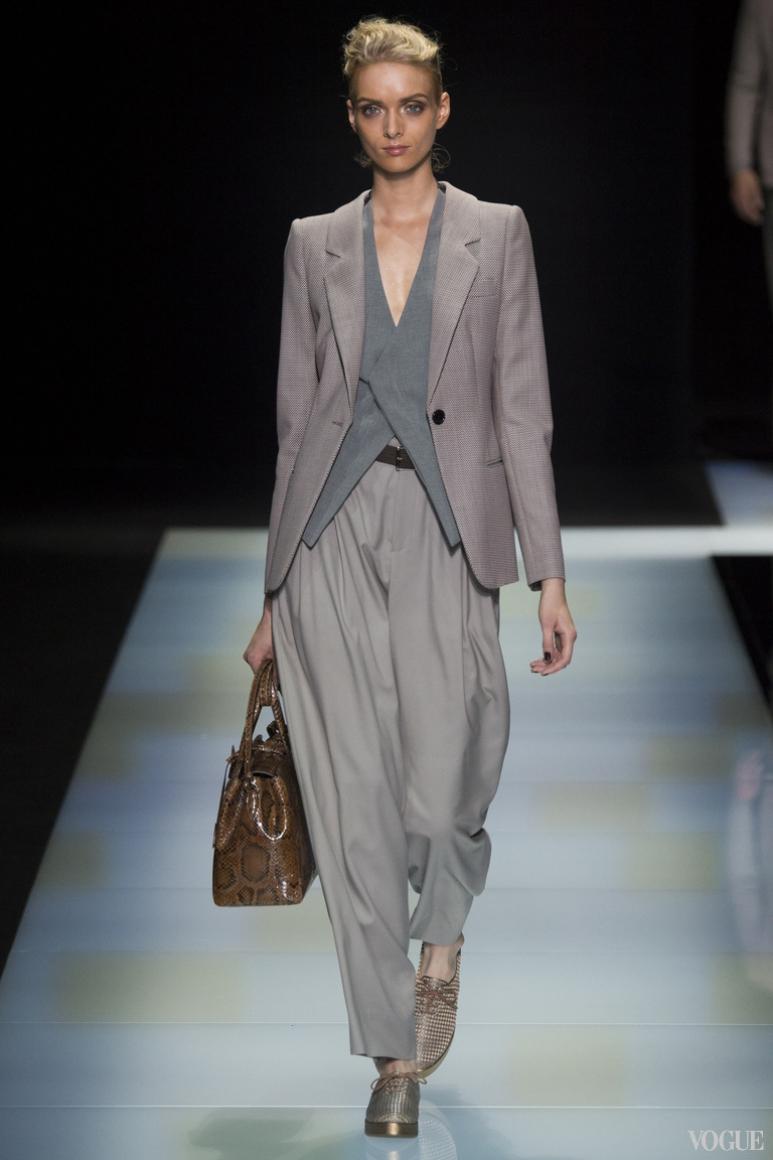 Giorgio Armani Menswear весна-лето 2016 #70