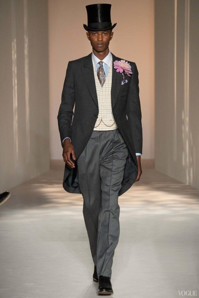 Dunhill Menswear весна-лето 2016 #33