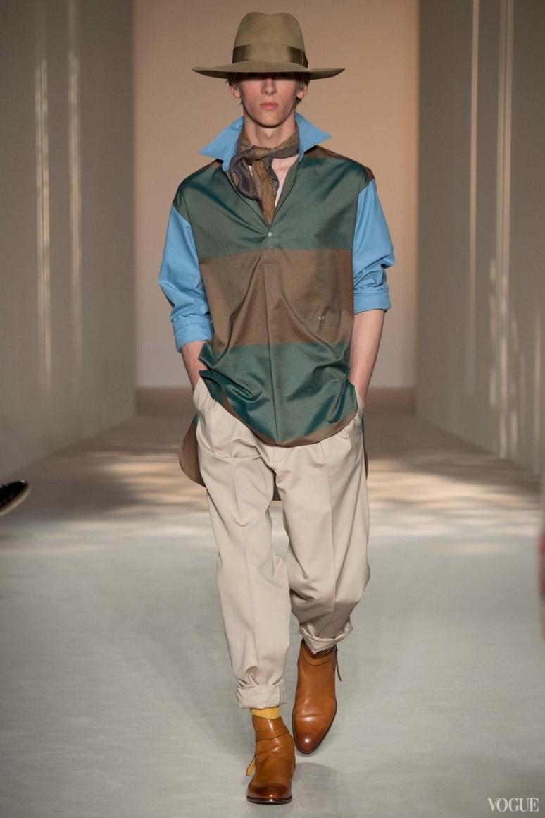 Dunhill Menswear весна-лето 2016 #11