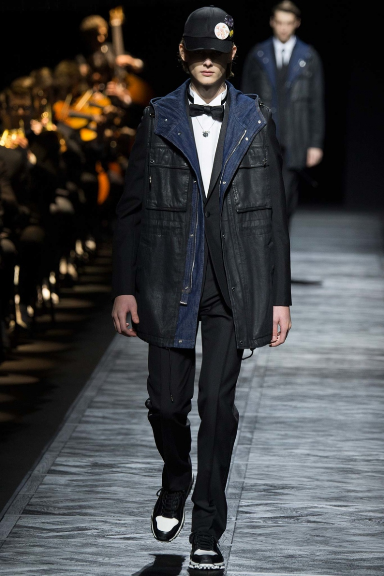 Dior Homme Menswear осень-зима 2015/2016 #39
