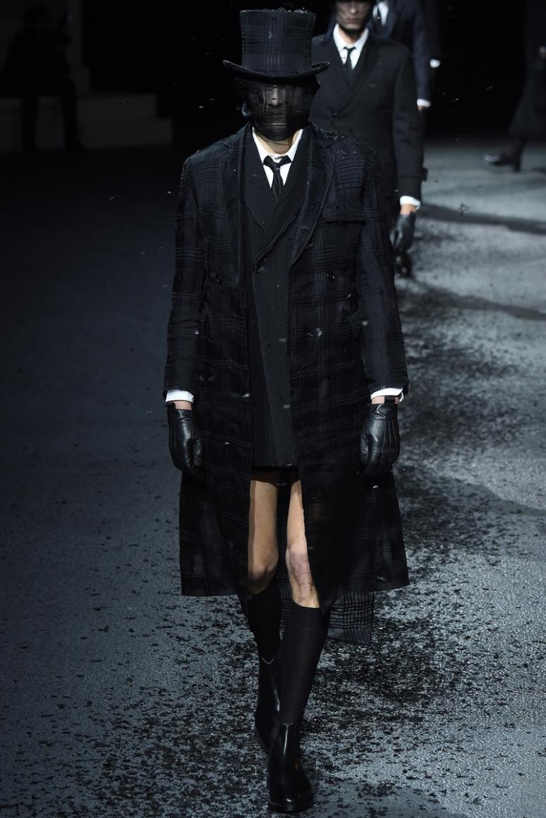 Thom Browne Menswear осень-зима 2015/2016 #19