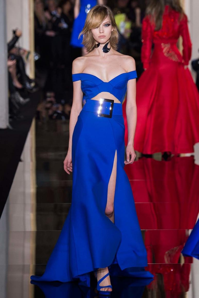 Atelier Versace Couture весна-лето 2015 #33