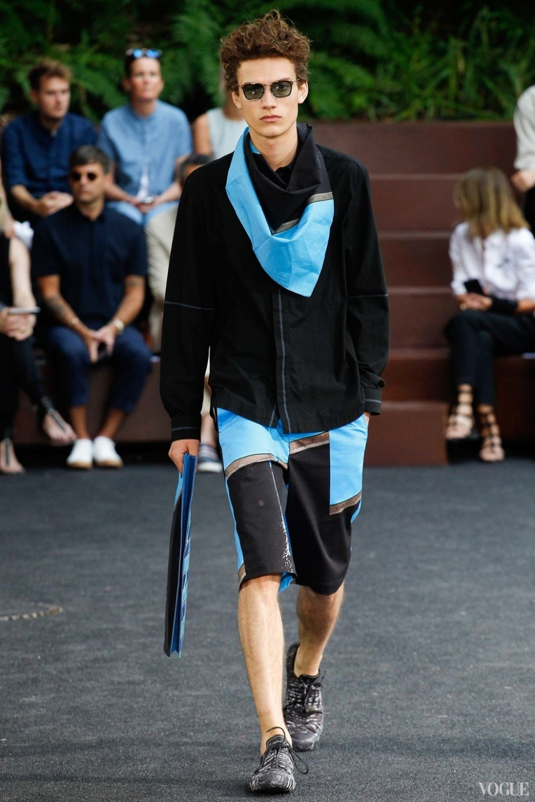 Issey Miyake Menswear весна-лето 2016 #9