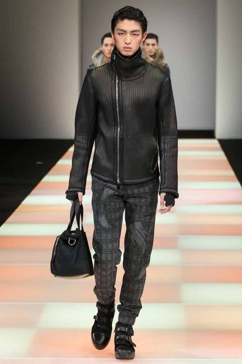 Emporio Armani Menswear осень-зима 2015/2016 #26