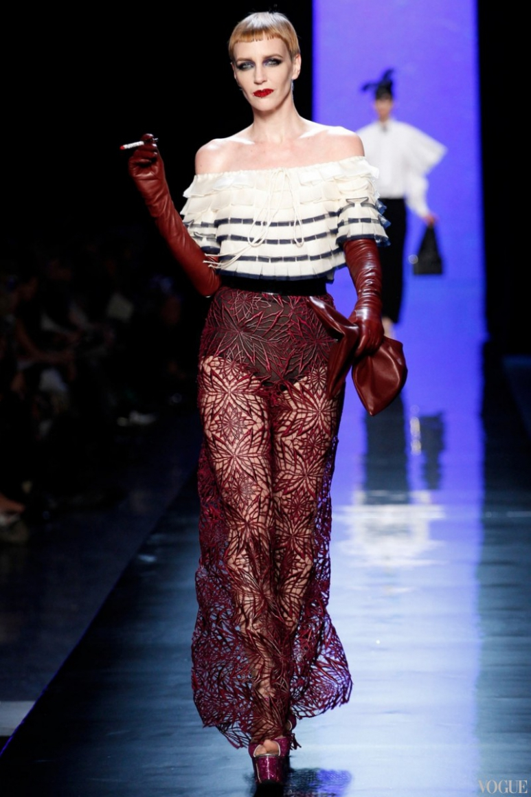 Jean Paul Gaultier Couture весна-лето 2014 #41