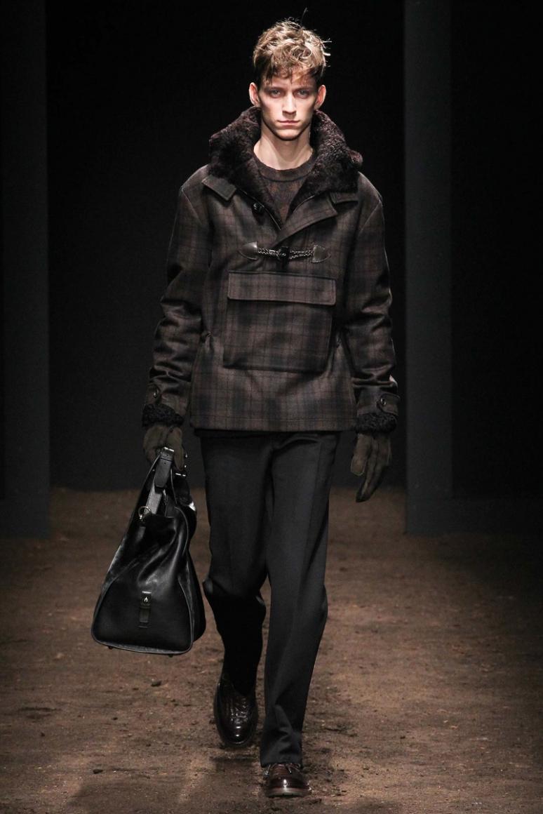 Salvatore Ferragamo Menswear осень-зима 2015/2016 #13