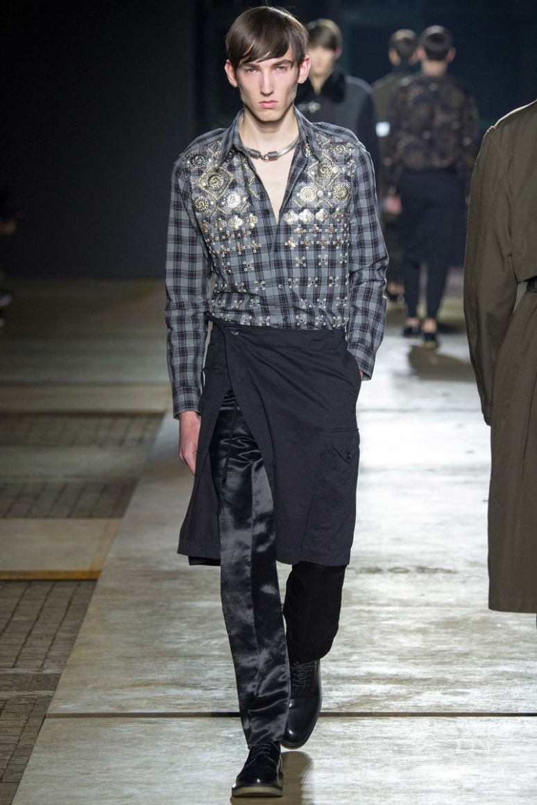 Dries van Noten Menswear осень-зима 2015/2016 #44