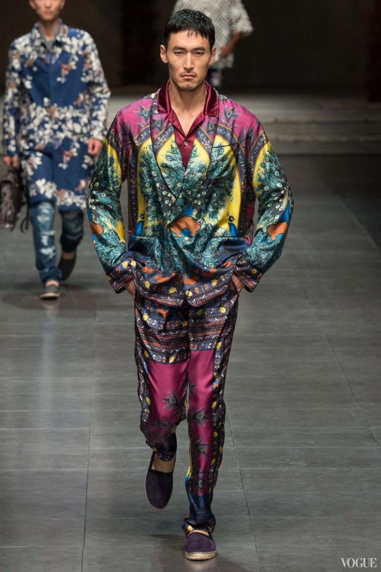 Dolce & Gabbana Menswear весна-лето 2016 #102