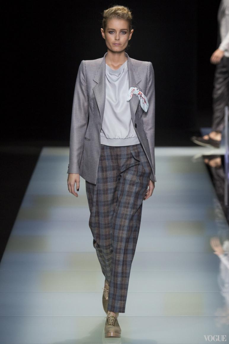 Giorgio Armani Menswear весна-лето 2016 #66