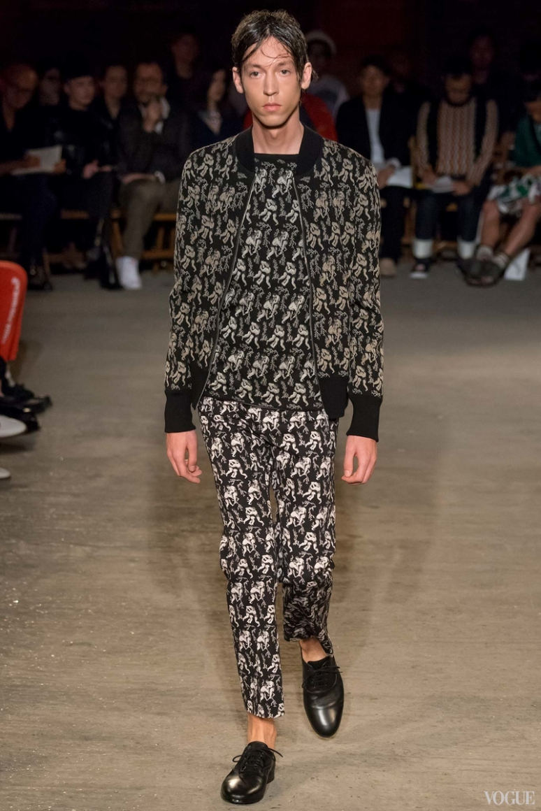 Alexander McQueen Menswear весна-лето 2016 #18