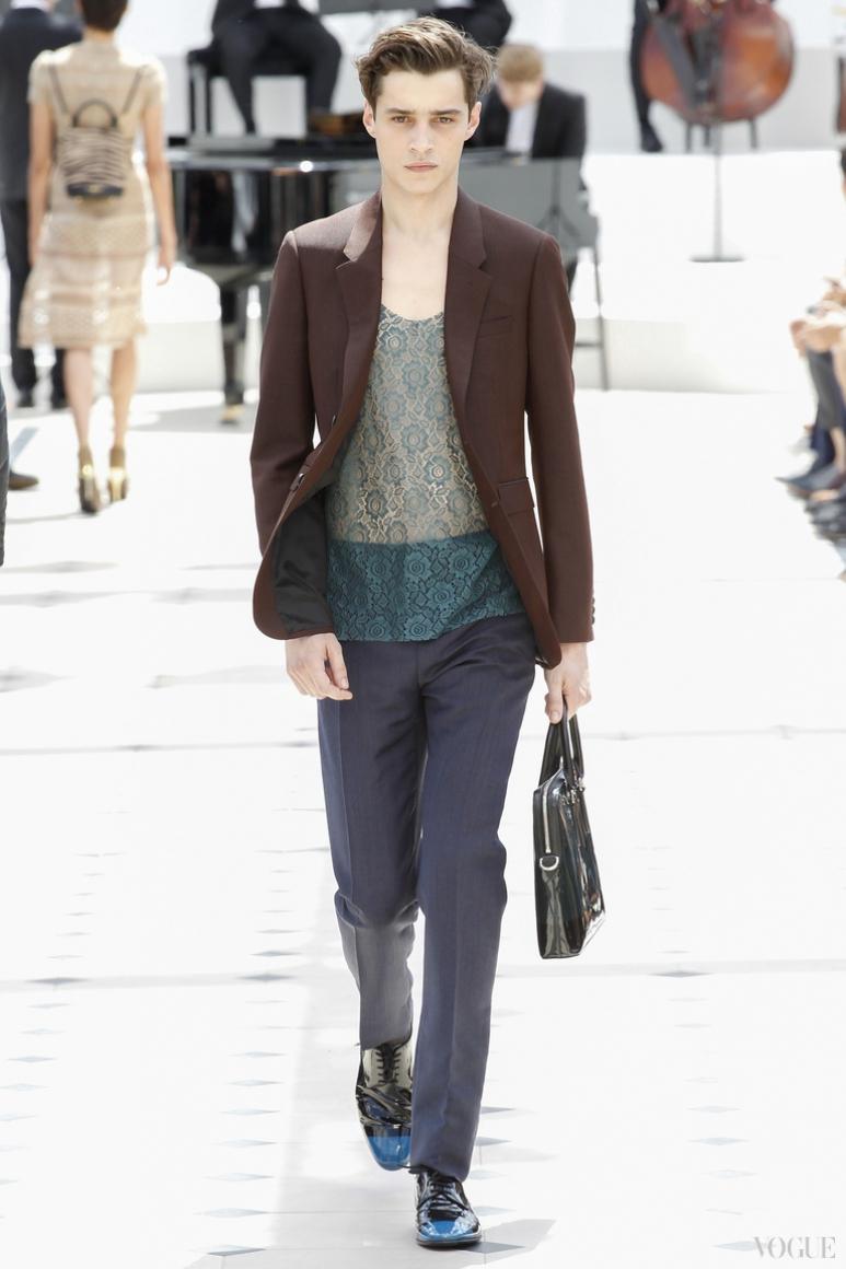 Burberry Prorsum Menswear весна-лето 2016 #44