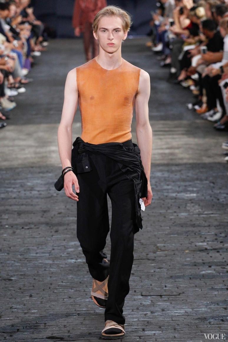 Maison Martin Margiela Menswear весна-лето 2016 #14