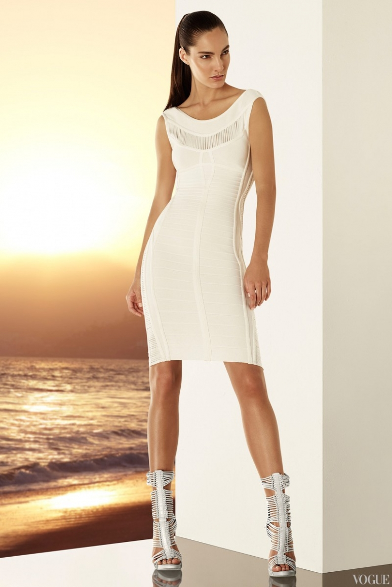 Herve Leger by Max Azria Resort 2015 #13