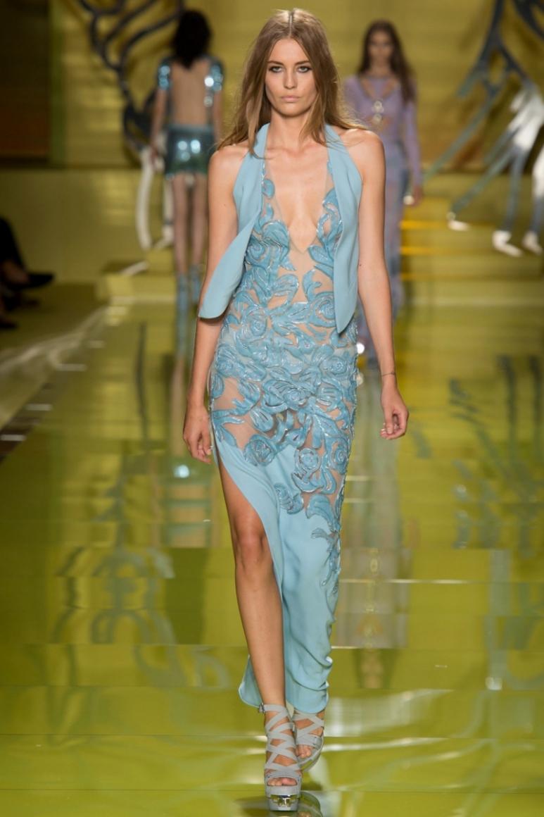 Versace весна-лето 2014 #7