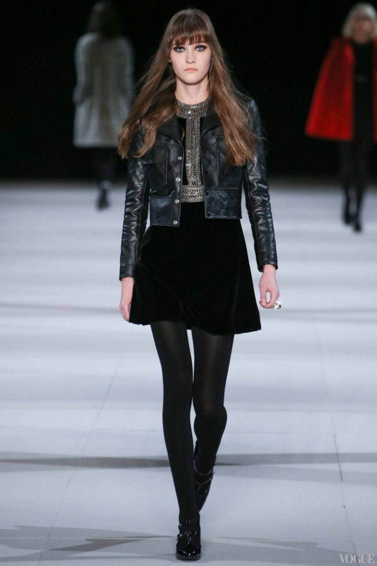 Saint Laurent осень-зима 2014/2015 #39