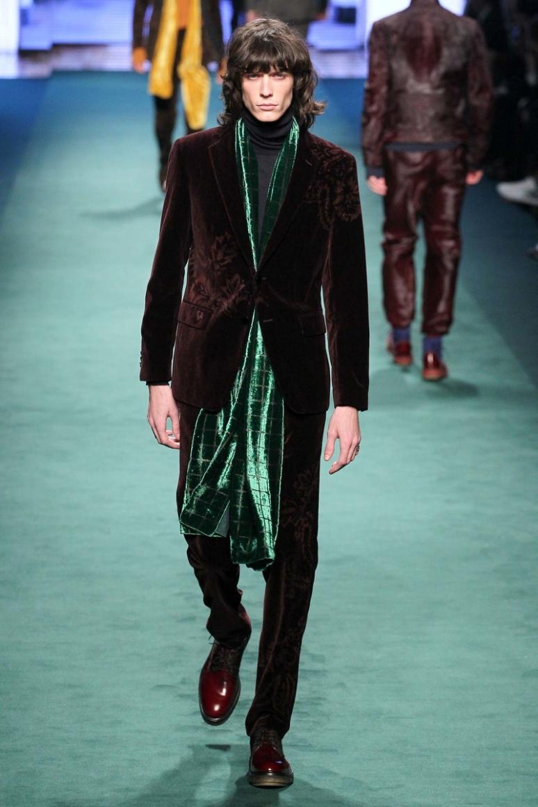 Etro Menswear осень-зима 2015/2016 #10
