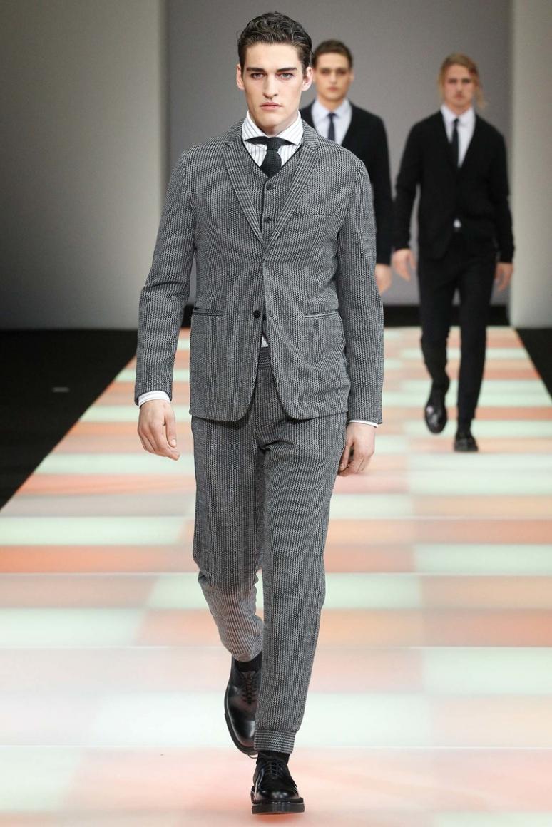 Emporio Armani Menswear осень-зима 2015/2016 #6