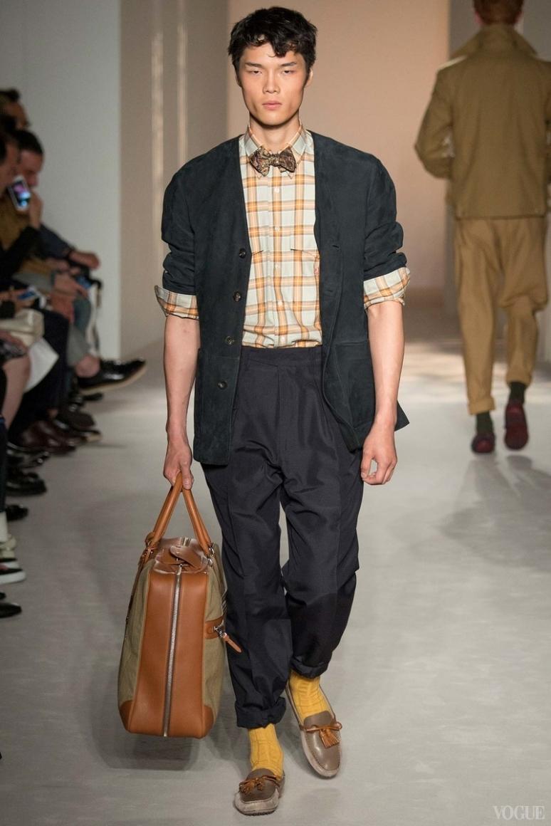 Dunhill Menswear весна-лето 2016 #6