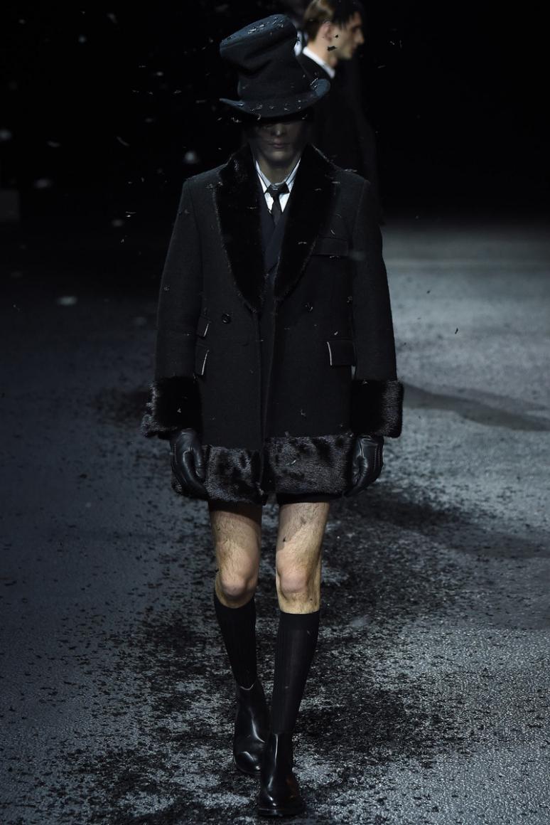Thom Browne Menswear осень-зима 2015/2016 #5