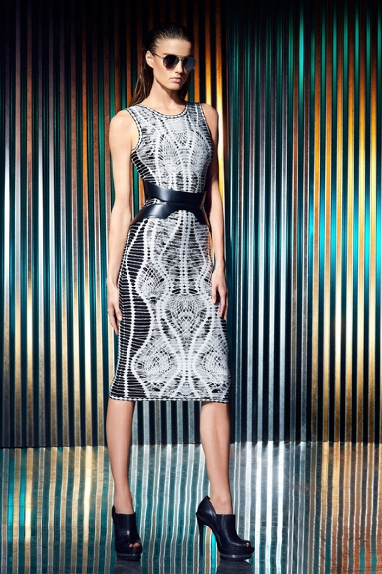 Herve Leger by Max Azria Resort 2014 #18