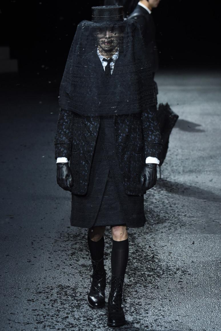Thom Browne Menswear осень-зима 2015/2016 #34
