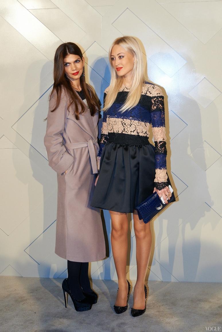 Алина Алиева и Яна Югай