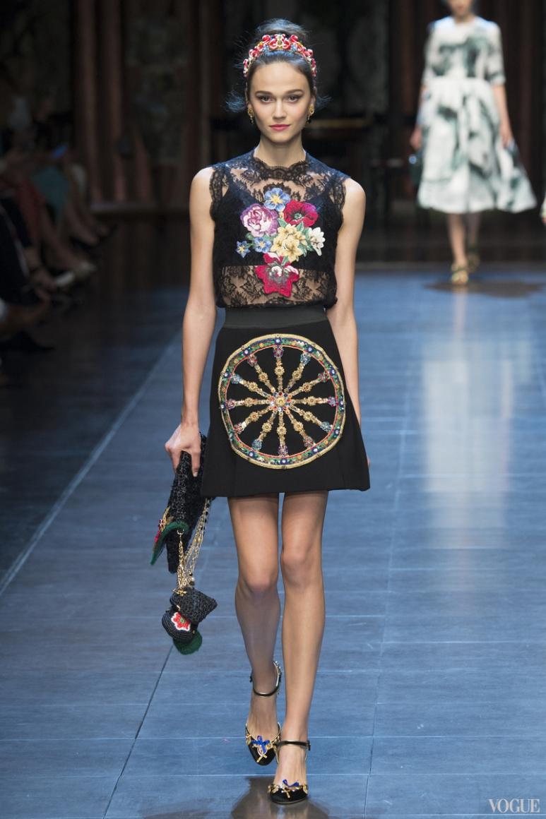 Dolce & Gabbana весна-лето 2016 #15