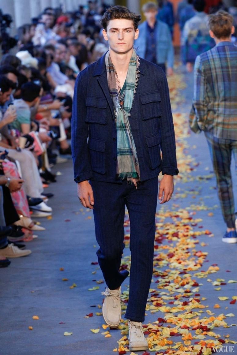 Missoni Menswear весна-лето 2016 #21