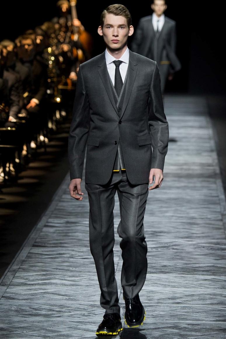 Dior Homme Menswear осень-зима 2015/2016 #13