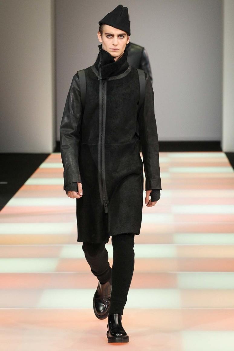 Emporio Armani Menswear осень-зима 2015/2016 #29