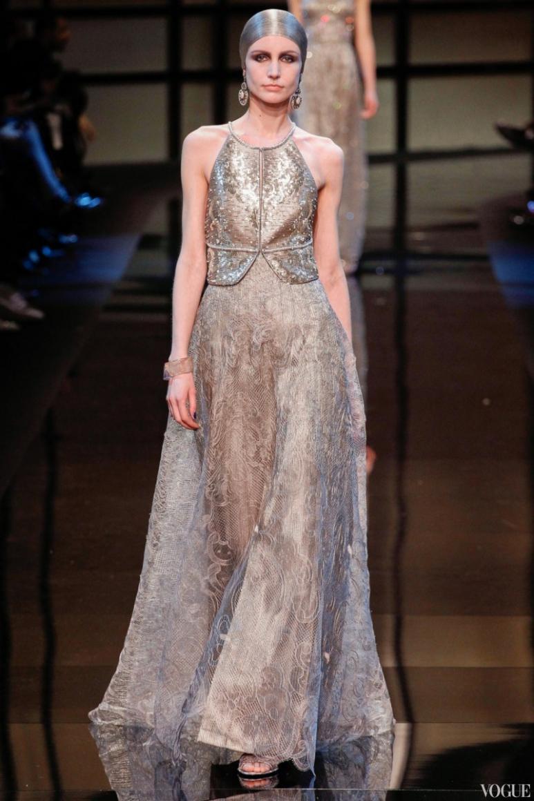 Armani Priv? Couture весна-лето 2014 #7