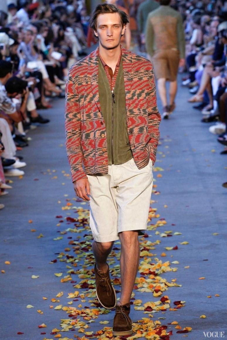 Missoni Menswear весна-лето 2016 #7
